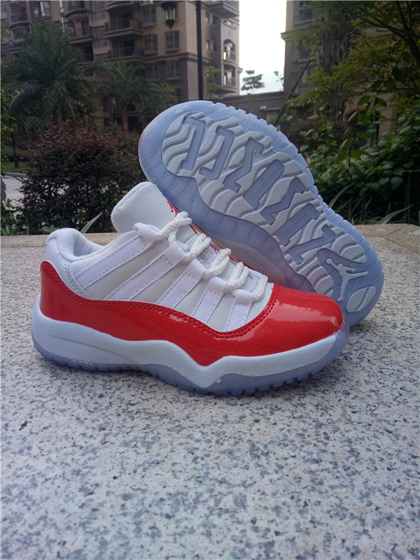 kid low top jordan 11 shoes retro-002
