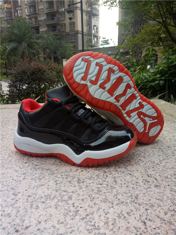 kid low top jordan 11 shoes retro-005