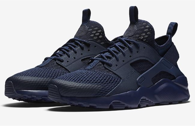 nike air huarache run ultra men dark blue