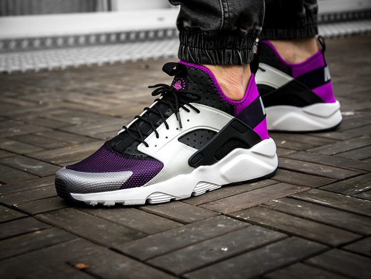 nike air huarache run ultra men Vilot black