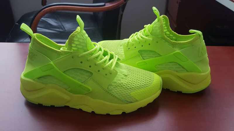 nike air huarache run ultra men LOC09805 light green