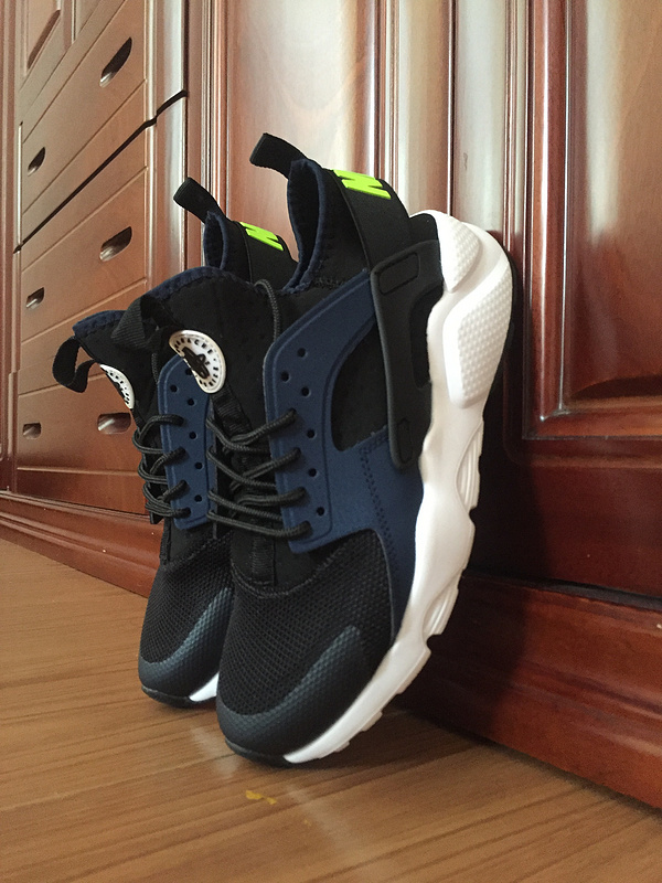nike air huarache run ultra men LOC0895 Dark blue green