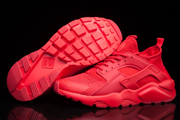 nike air huarache run ultra women LOC0895 all red