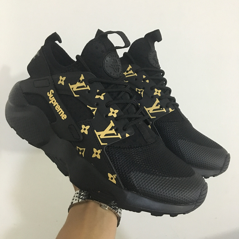 nike air huarache run ultra women Supreme all black-nike air huarache run  ultra women-nike air huarache run ultra--china cheap wholesale