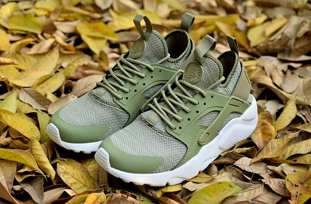00e5cd24f3 nike air huarache run ultra women LOC09805 light green-nike air ...