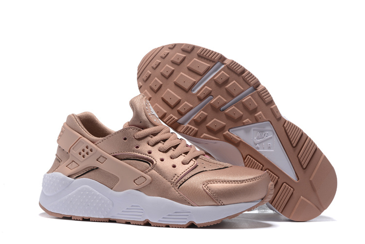 nike air huarache run women JKL white pink