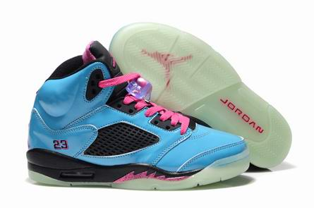 women jordan 5 night light shoes 03-11-005